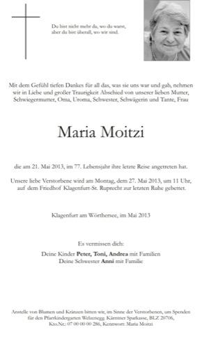 MOITZI Maria