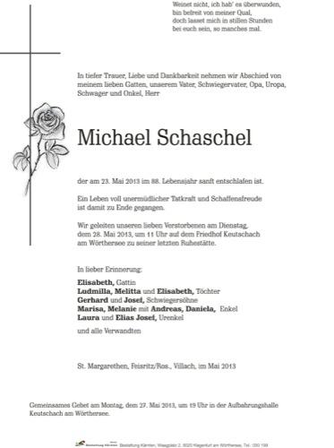 SCHASCHEL Michael