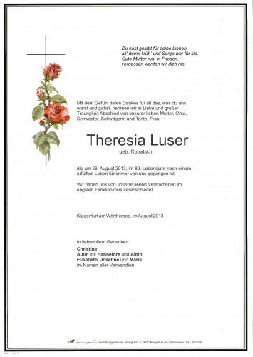 Theresia Luser