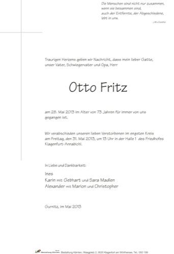 FRITZ Otto