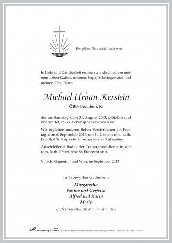 Michael Urban Kerstein