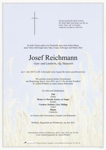 REICHMANN Josef