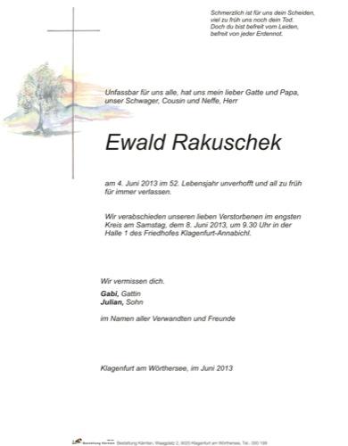 RAKUSCHEK Ewald