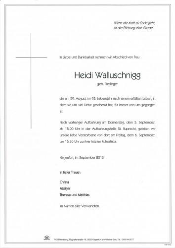 Heidi Walluschnigg