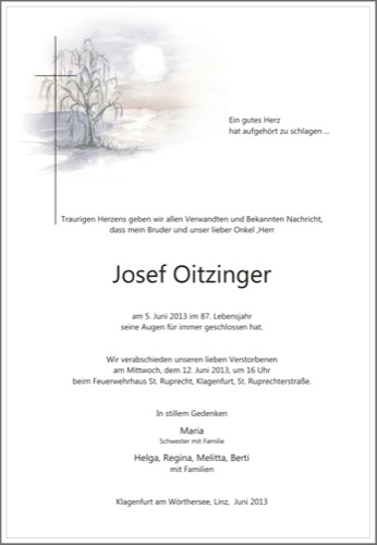OITZINGER Josef