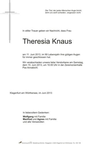 KNAUS Theresia
