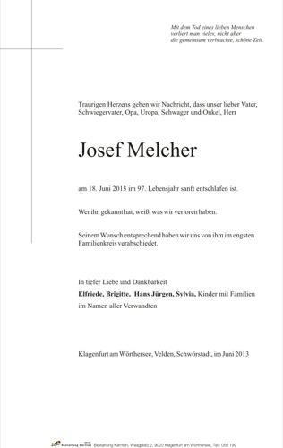 MELCHER Josef
