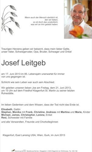 LEITGEB Josef