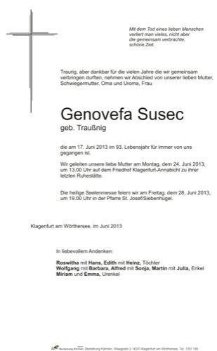 SUSEC Genovefa