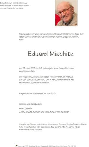 MISCHITZ Eduard