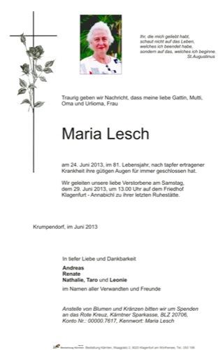 LESCH Maria