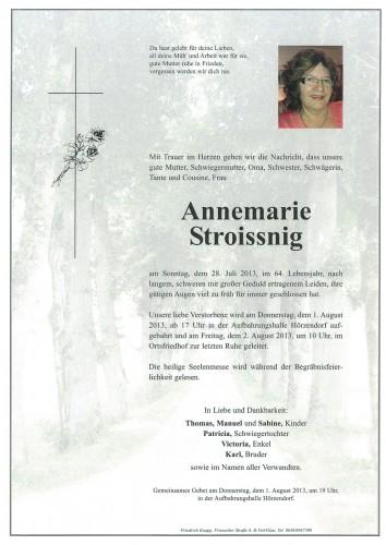 Annemarie Stroissnig