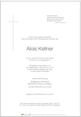 KELLNER Alois