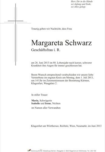 SCHWARZ Margareta