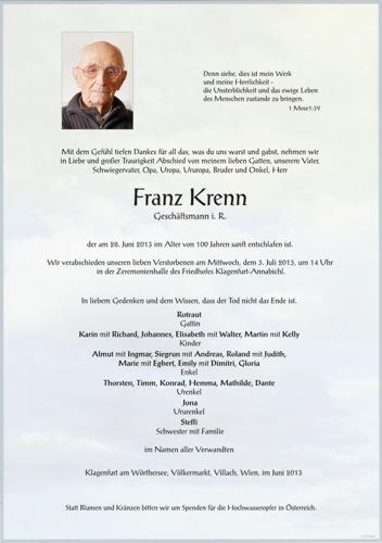 KRENN Franz