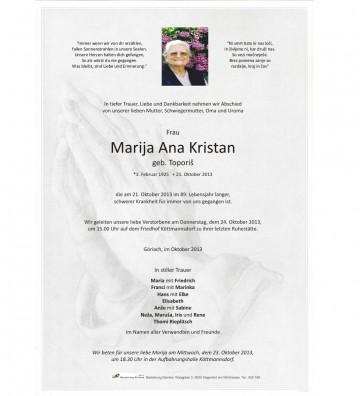 Marija Ana Kristan
