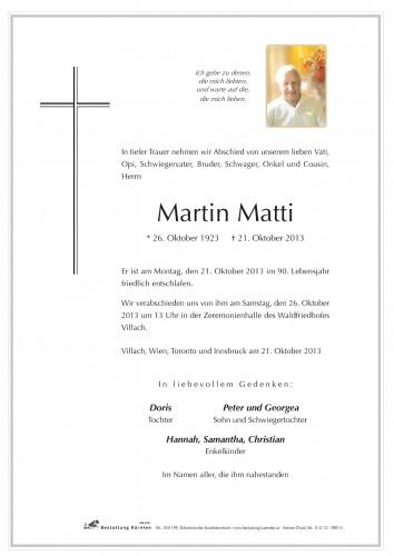 Martin Matti