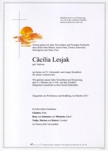 Cäcilia Lesjak