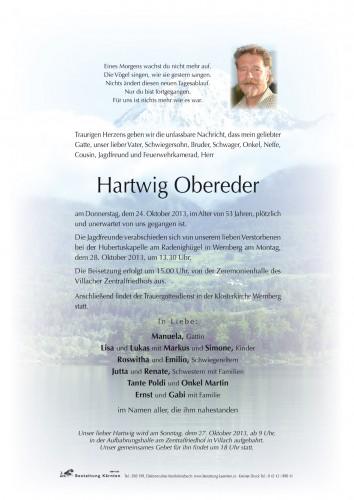 Hartwig Obereder