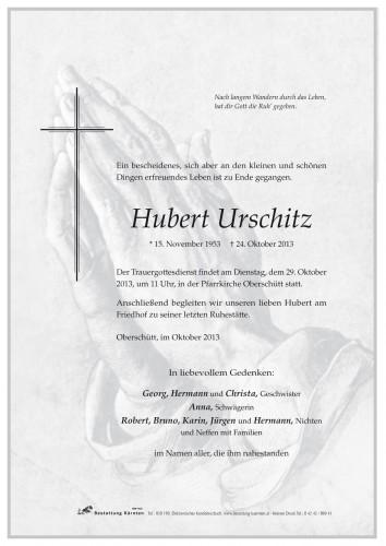 Hubert Urschitz