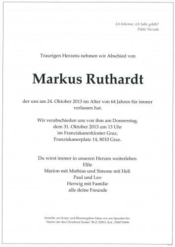 Markus Ruthardt