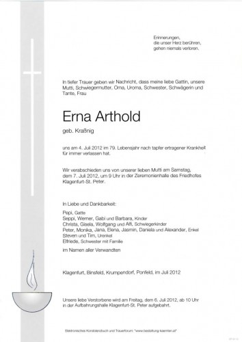 Erna Arthold