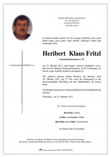Heribert Klaus Fritzl