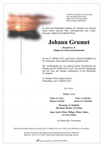Johann Grumet