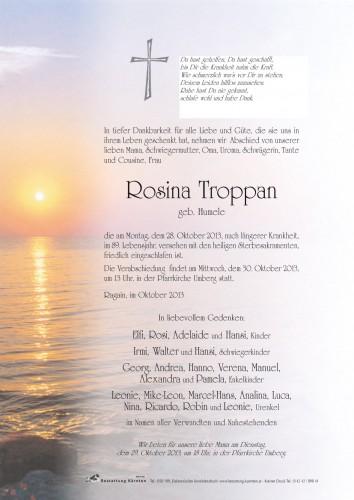 Rosina Troppan