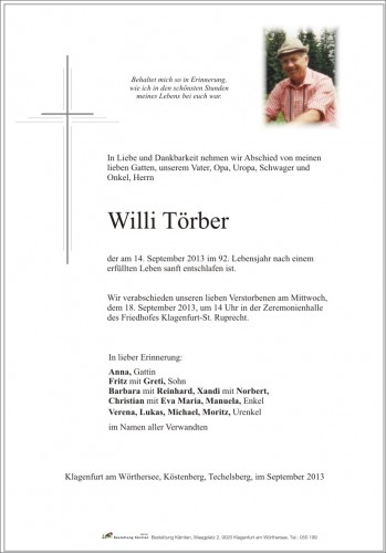 Willi Törber