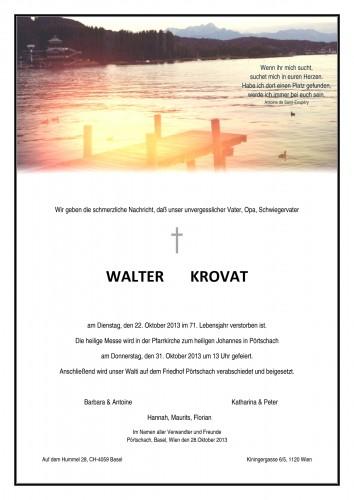 Walter Krovat