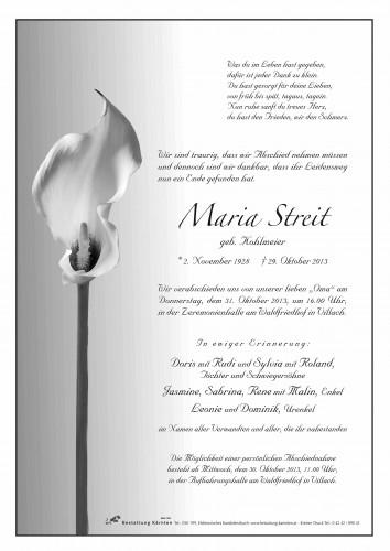 Maria Streit