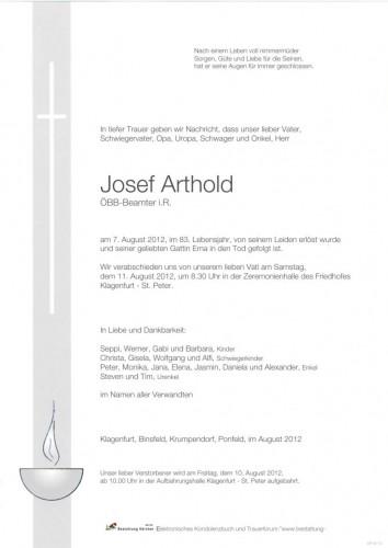 Josef Arthold