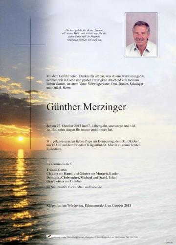 Günther Merzinger