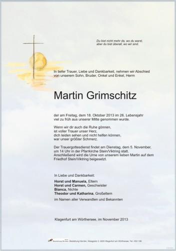 Martin Grimschitz