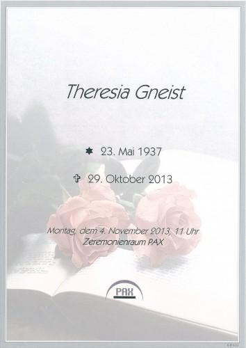 Theresia Gneist