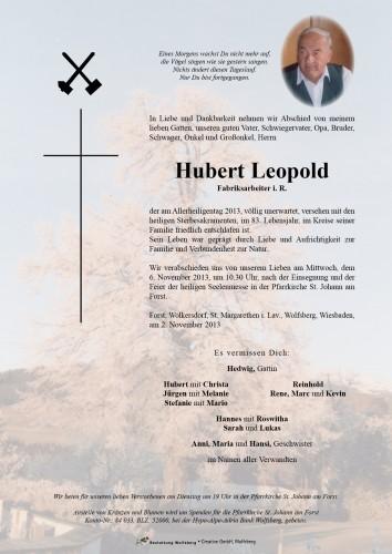 Leopold Hubert