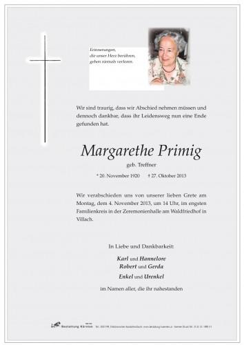 Margarethe Primig