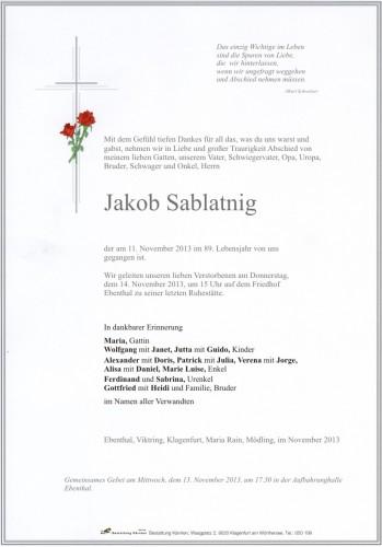 Jakob Sablatnig
