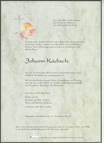 Johann Kadisch