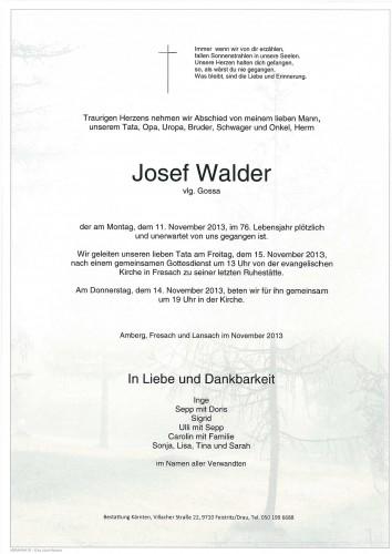Josef Walder