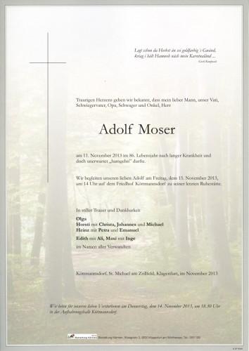 Adolf Moser