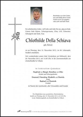 Chlothilde Della Schiava
