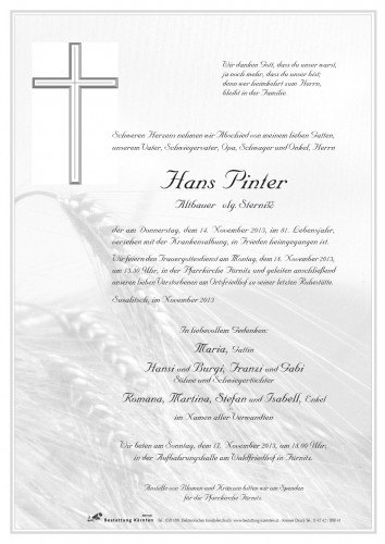 Hans Pinter