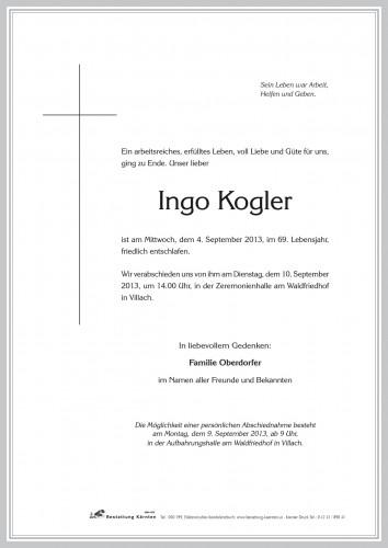 Ingo Kogler