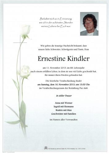 Ernestine Kindler