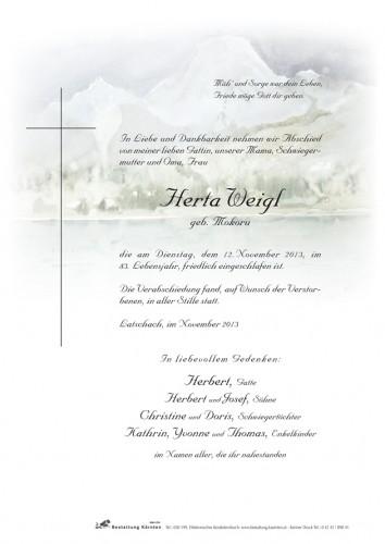 Herta Weigl
