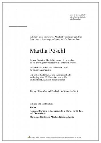 Martha Pöschl