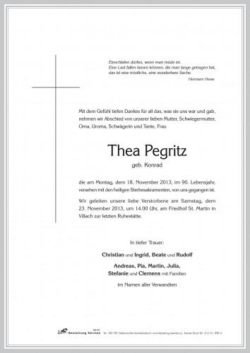 Thea Pegritz