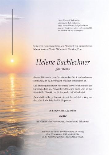 Helene Bachlechner